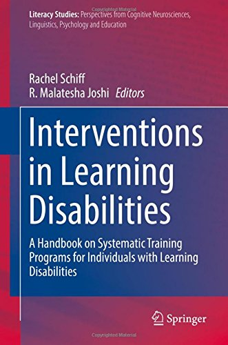 Interventions in Learning Disabilities: A Handbook on Systematic Training Programs for Individuals with Learning Disabil