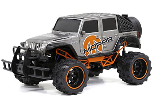 New Bright F/F 6.4V Baja Extreme Mopar 4-Door Jeep RC Vehicle (1:14 Scale) ()