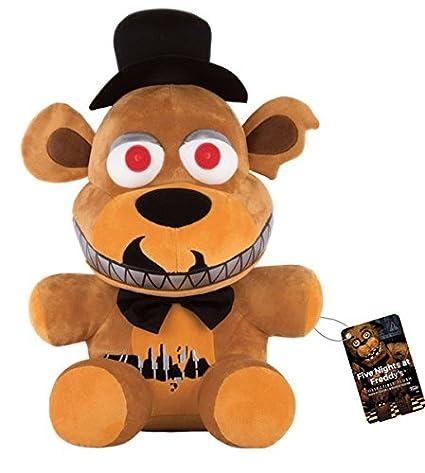 Peluche oso Freddy 48 cm. Five Nights at Freddys. Versión Nightmare. Funko