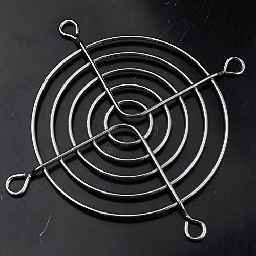FidgetFidget 100pcs Metal Wire 80mm 8cm Fan Protector Finger Guard Grill Case Net by FidgetFidget (Image #3)