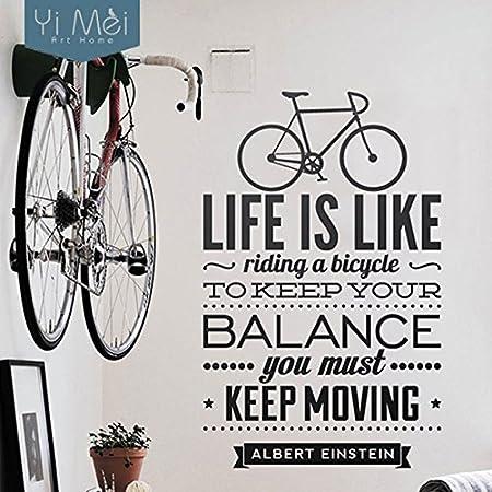 La vida es como montar en bicicleta Quote bicicleta deporte ...