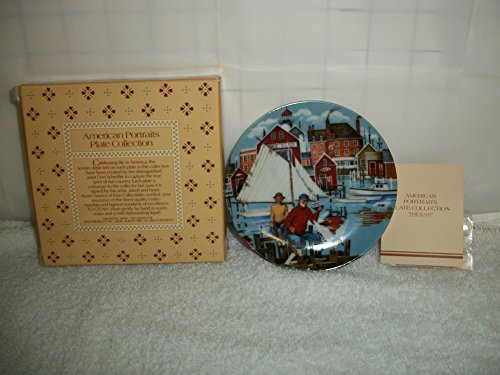 Avon Vintage 1985 American Portraits Plate Collection - The East