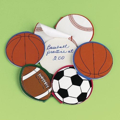 Sport Ball Notepads (2 dz) by Fun Express