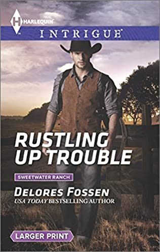 book cover of Rustling Up Trouble