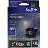 Brother Printer LC10EBK Super High Yield Black Ink Cartridge