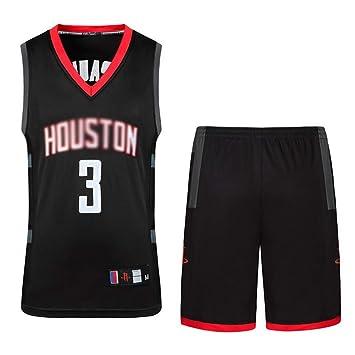 NBA Rocket Jersey Ropa Masculina del Bordado del Baloncesto Traje De Entrenamiento De Desgaste Ropa Deportiva