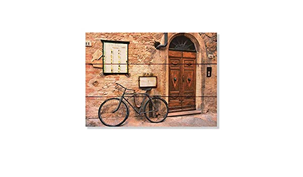 Gizaun Art Italiano Osteria 22-1//2-Inch by 16-Inch Inside//Outside Wall Art Full Color on Cedar