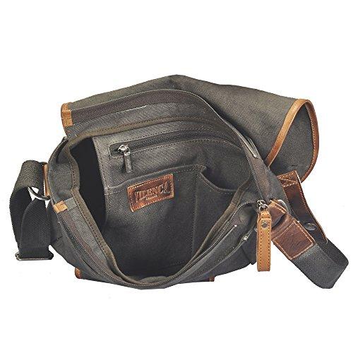 vilenca Holland 40758, bolsos de piel Lienzo Messenger Bag–Bolsas, bolsas de hombro Negocio bolsas, carteras, Cross (L2739cm x H32cm X 12cm.)