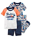 Carter's Boys' 6M-12 4 Piece Multi Racecar Pajama Set 2T