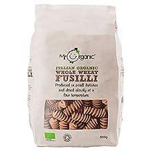 Mr Organic Whole Wheat Fusilli - 500g (1.1lbs)
