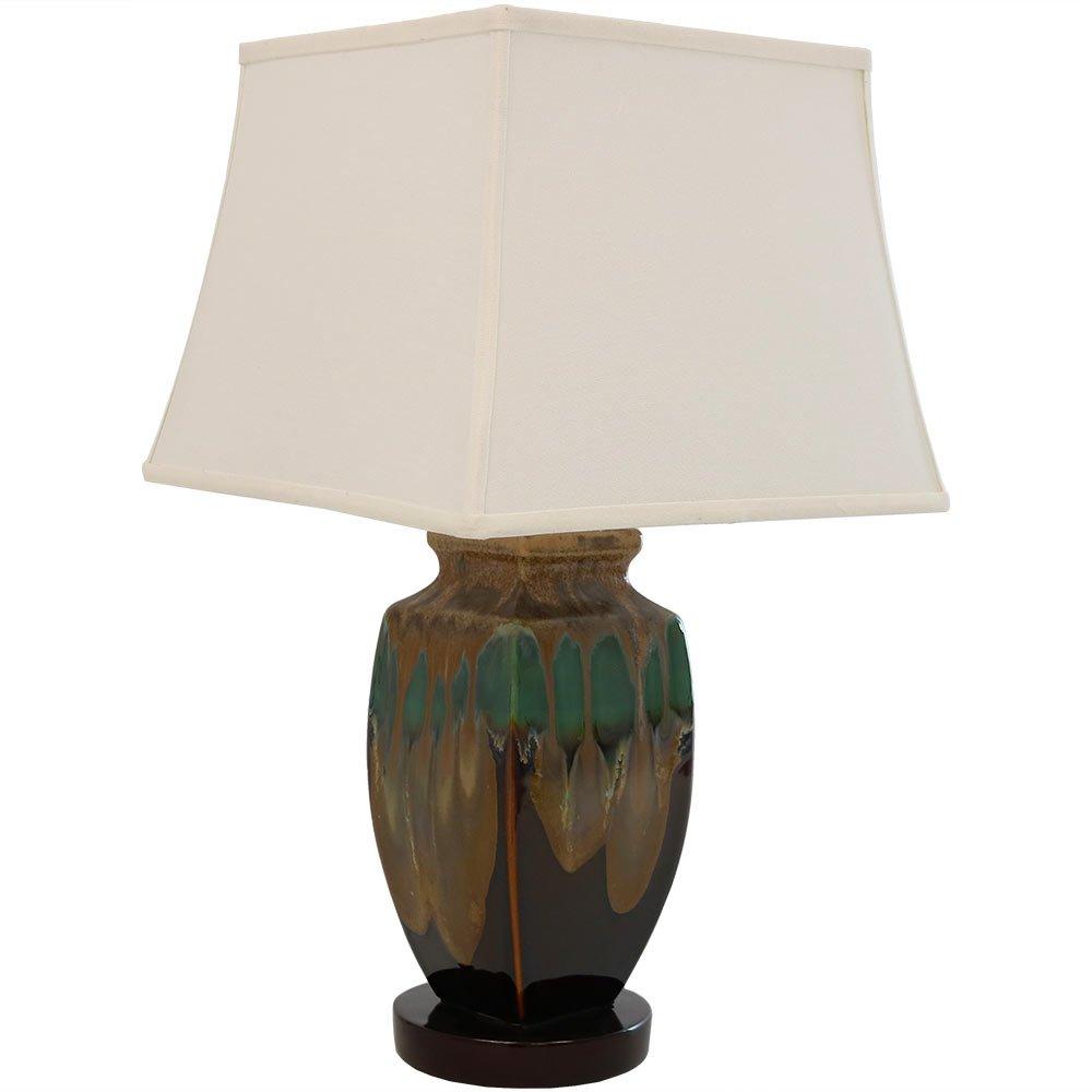 Sunnydaze Indoor Multi-Colored Ceramic Table Lamp, 23 Inch by Sunnydaze Decor (Image #2)
