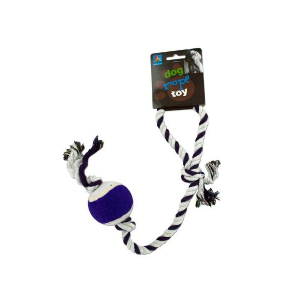 Dog rope tennis ball toy-Package Quantity,144