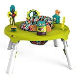 Oribel PortaPlay 4-in-1 Foldable Activity Center, Turn, Bounce, Play, Transform – Forest Friends