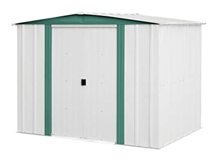 Arrow Sheds HM86 Hamlet Steel Storage Shed, 8 By 6 Feet