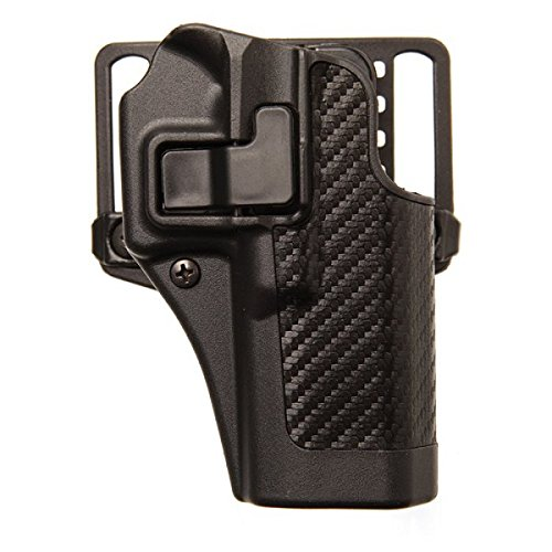 Blackhawk Serpa CQC with Carbon Fiber Holster Fits S&W M&P LH Black 410025BK-L