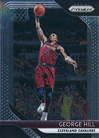 7720a7b86799 2018-19 Panini Prizm Basketball  160 George Hill Cleveland Cavaliers  Official NBA Trading Card