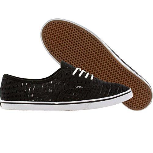 Vans Authentic Lo Pro Women US 5.5 Black Skate Shoe