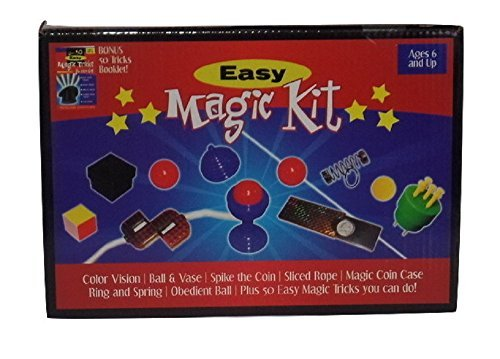 Beginner Magic Trick (Magic Kit Trick Set for Beginners Starter Collection Kids Magician Toy)