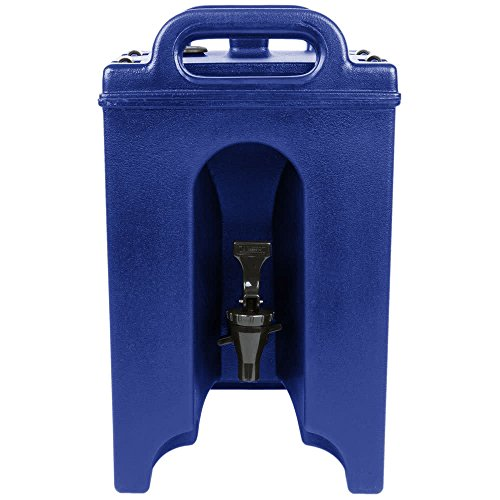 TableTop King 100LCD186 Camtainer 1.5 Gallon Navy Blue Insulated Beverage ()