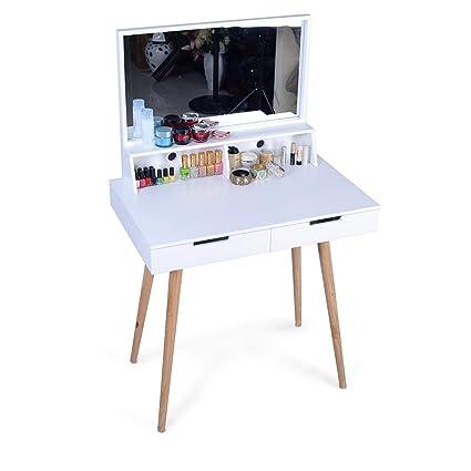 Amazon Com Facilehome Dressing Vanity Table Dressing Table Makeup