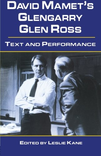Glengarry glen ross by david mamet essay