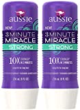 Aussie 3 Minute Miracle Strong Conditioning Treatment, 8 oz, 2 pack