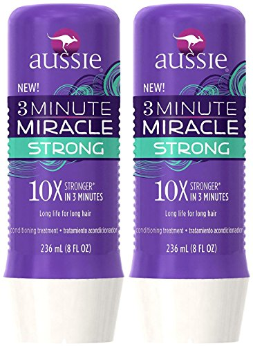 Aussie 3 Minute Miracle Strong Conditioning Treatment, 8 oz,