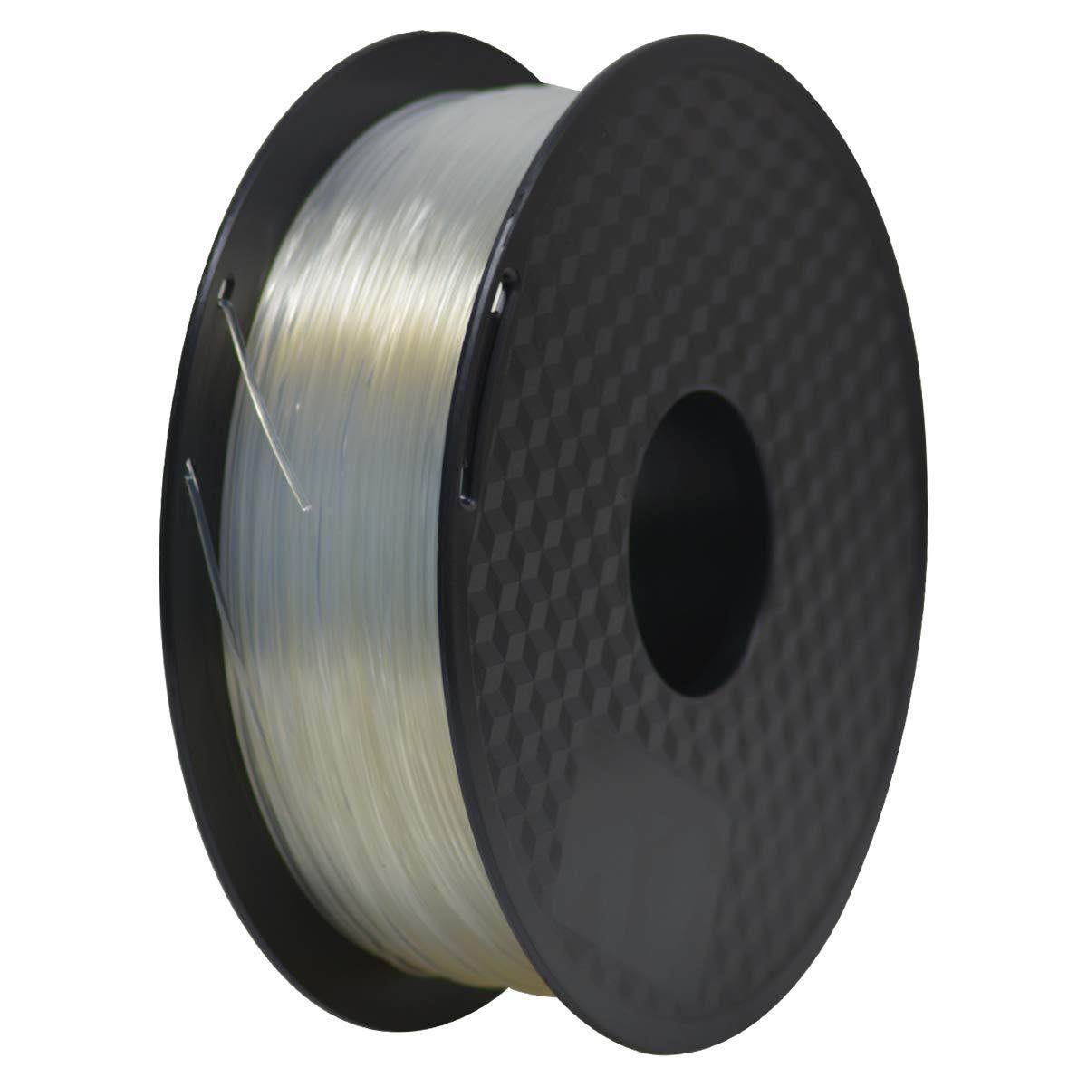 PLA Filament 1.75mm, Geeetech 3D Printer PLA Filament,1.75mm,1kg per Spool,Transparent