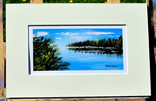 Archival Giclée Open edition print on 100% cotton rag of Poole Park in Dorset, England by Nkolika Anyabolu. Signed and dated by artist. Made in England.