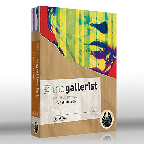 Eagle-Gryphon Games The GALLERIST (2017 Edition) Includes Scoring Expansion