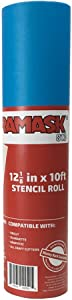 Oramask 813 Stencil Film 12.125 Inches x 10 Foot Roll for Cricut, Silhouette, Cameo, Craft Cutters