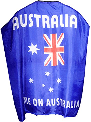 Forewell Australian Superhero Flag Cape - Australian Superhero Costumes