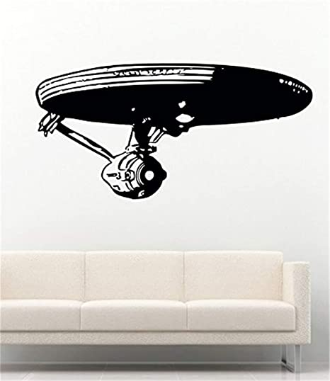 STAR TREK STARSHIP ENTERPRISE vinyl wall art room sticker decal star trek movie