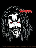 Licenses Products Insane Clown Posse Shaggy Sticker