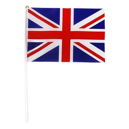 Bandera Del Union Jack Inglaterra Gran Bretana Britanico De La ...