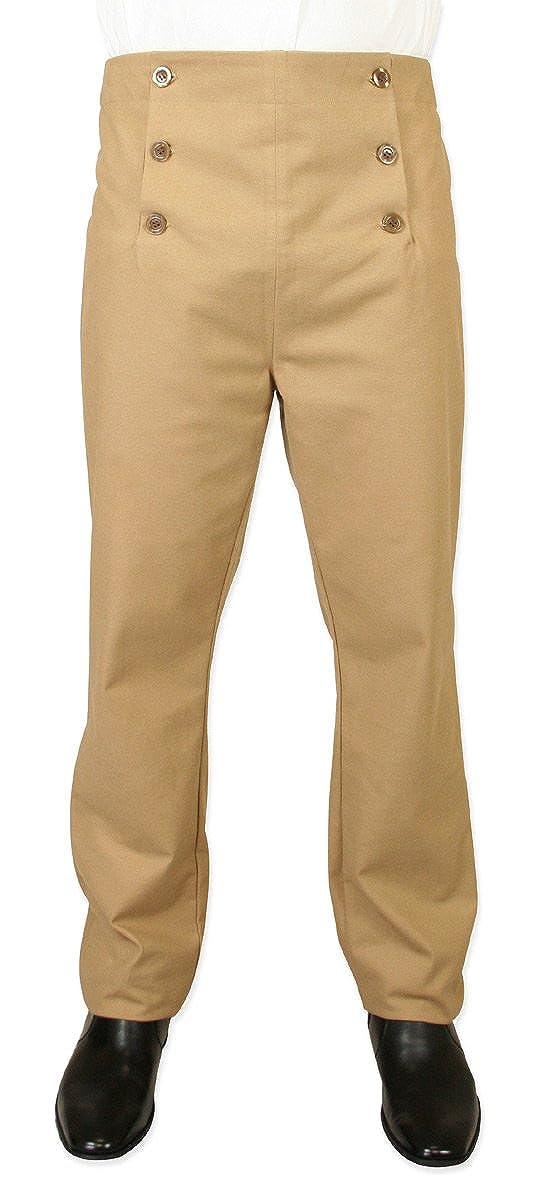 High Waist Regency Fall Front Trousers
