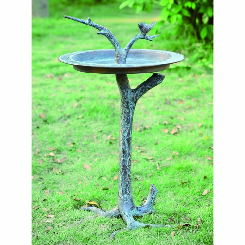 SPI Home 33303 Bird and Twig Sundial/Birdbath by SPI Home