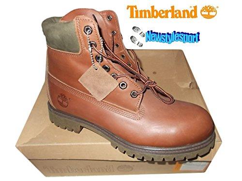 timberland 6 premium brown boot uomo (43)