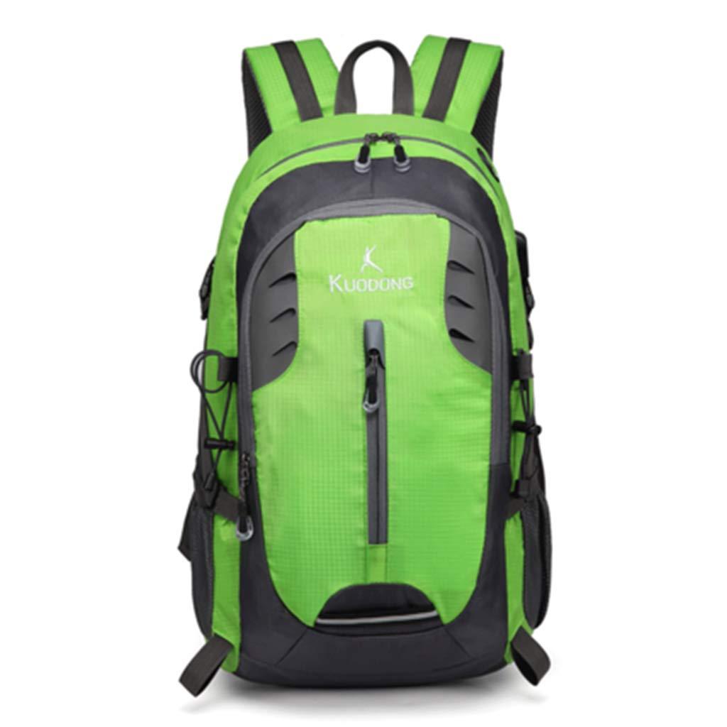 JTWJ アウトドア登山バッグメンズショルダーバッグ女性の大容量レジャー旅行ライト防水スポーツウォーキングバッグ35 L (Color : 3)  3 B07T4M7YN5
