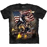 The Mountain Men's The Clinton Adult T-Shirt, Black, XX-Large