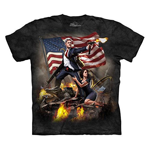 The Mountain Men's Clinton T-Shirt Black XL