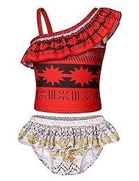 HenzWorld Unicorn Rainbow Swiwsuit Swim Dress Up Birthday Cosplay Party Holiday Outfit