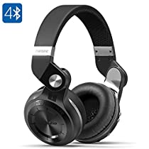 Bluedio T2 Plus Turbine Wireless Bluetooth Headphones with Microphone/Micro SD Card Slot/FM Radio