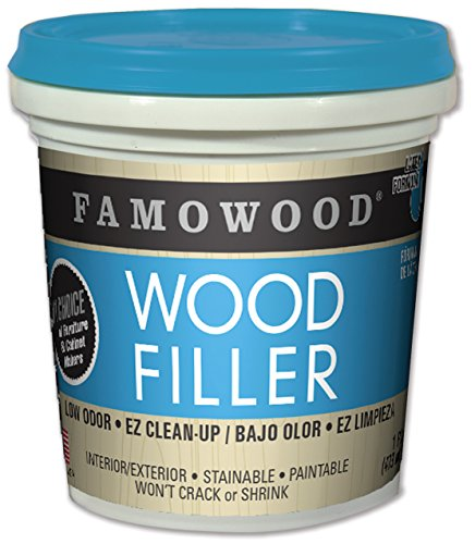 - FamoWood 40022126 Latex Wood Filler - Pint, Natural