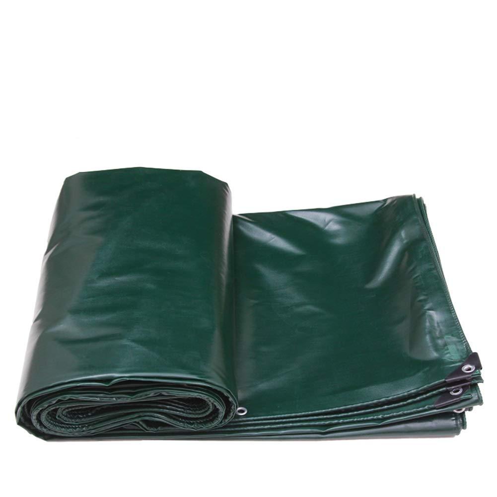 XUEYAN Tarpaulin Heavy Duty Impermeabile Tarp su Due Lati Copre Fogli di Terra Capannone in Tessuto Addensare preservativo a Prova di Pioggia 520G   M² (Dimensioni   5m×4m)