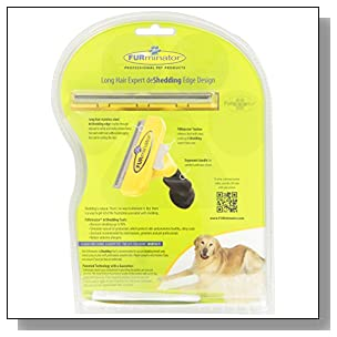 FURminator deShedding Tool for Dogs, Large, Long Hair - 101008