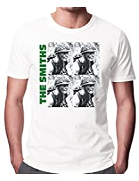The Smiths Meat Is Murder Unisex Fashion Quality Heavyweight T-Shirt. White/XL