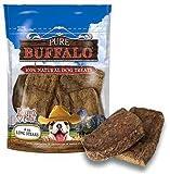 Loving Pets Pure Buffalo Lung Steaks Dog Treat, 8 -Ounce, My Pet Supplies