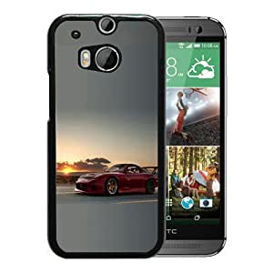 Excellent protection,Lightweight and durable Mazda RX7 Sunset Black HTC ONE M8 Case