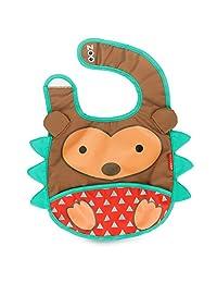 Skip Hop Zoo Tuck Away Bib, Hudson Hedgehog